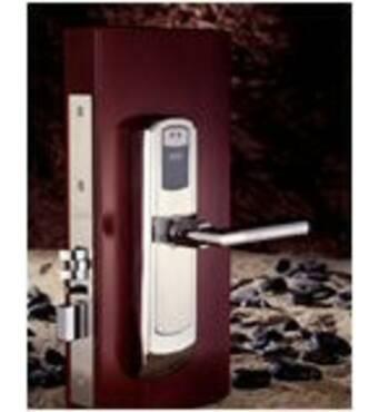 Замок готельний електронний DiGi - 6600-76 з доступом по беcконтактным MiFare карткам.
