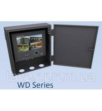 Відеореєстратор поєднаний з монітором в настінному металевому щиті