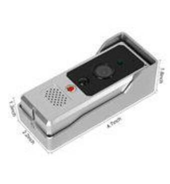 Видеодомофон с WiFi связью и батарейным электропитанием WF3
