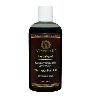 """Натуральное масло для волос """"Брингарадж"""" Chandi, 200мл"""