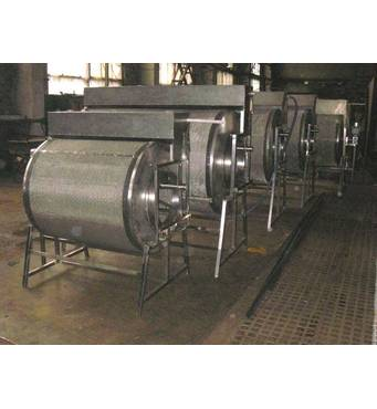 Механічний барабанний самопромивний фільтр 300 м3/год.