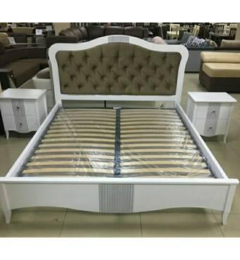 Кровать София из массива ясеня