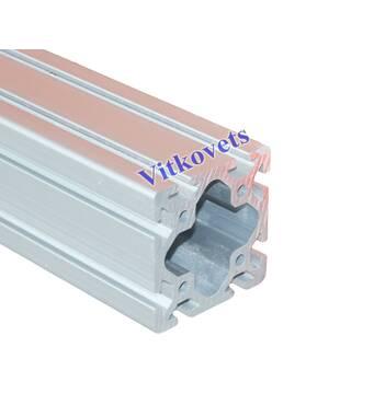 Верстатний алюмінієвий профіль  80х80w 3000мм