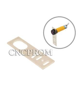 Кронштейн для кріплення циліндричного датчика з різьбленням М18 (прямій)