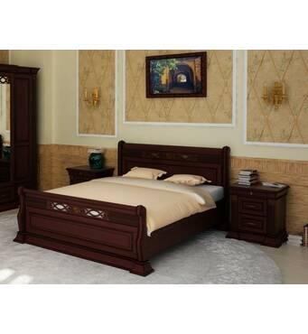 Кровать Кармен из дуба
