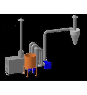 Сушилка аэродинамическая САД-0.4-0.8