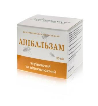 Апибальзам согревающий и восстанавливающий с пчелиным ядом, 30 мл
