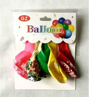 Набор воздушных шаров с рисунком