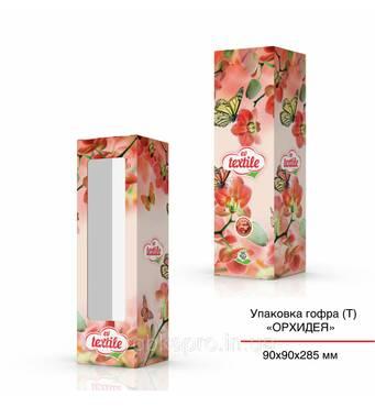 Упаковка картон (Т), 90х90х285 мм, Орхидея