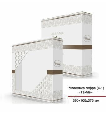 Упаковка подарочная гофра Винтаж 390х100х375 мм