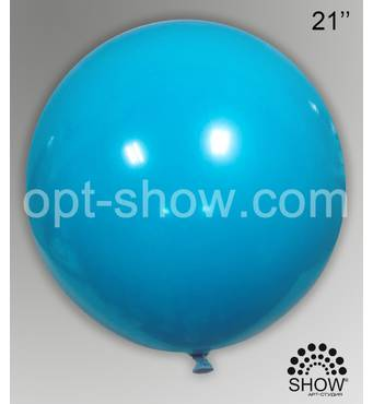 "Шар гігант блакитний 21"" (52,5 см) Арт Шоу"