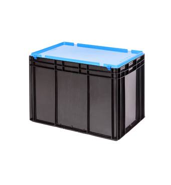 Евроконтейнер, пластмассовый ящик.
