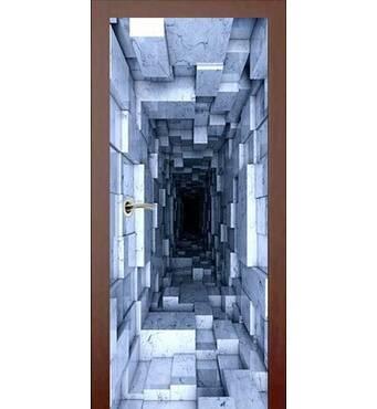 3D двері Таємничий портал 9266, 80х200 см