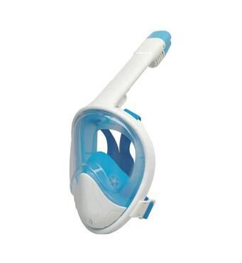 Маска для сноркелінгу TheNice F2 EasyBreath - III на усе обличчя для дайвінгу L/XL Білий