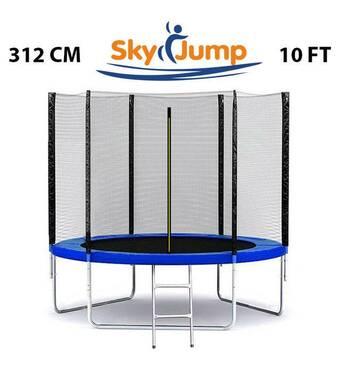 Батут SkyJump 10 фт., 312 см.з защитной сеткой и лесенкой