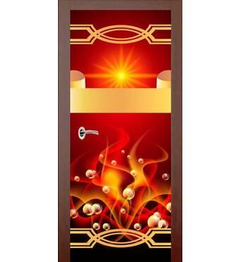 3D двері Абстракція 9258, 60х200 см