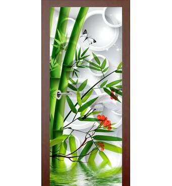 3D двери Бамбук 9262, 80х200 см