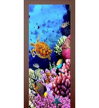 3D двері Мешканці рифу 9202, 60х200 см