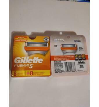 Змінні касети Gillette Fusion5 США 8 шт