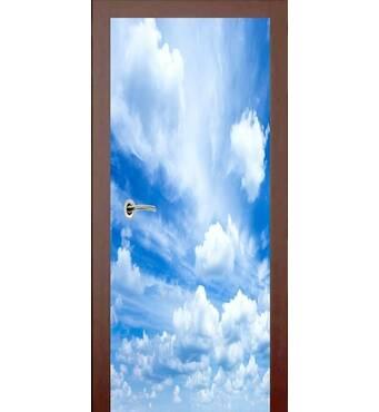 3D двери Облака 925, 80х200 см