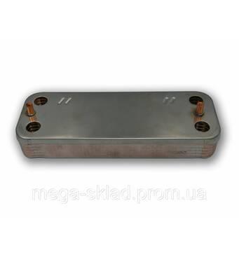 Теплообмінник Duval isofast E1, isomax E2 12 пластинів