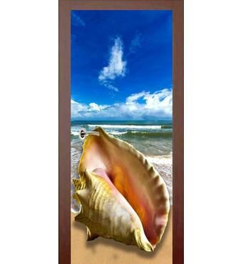 3D двері Ракушка 9440, 60х200 см