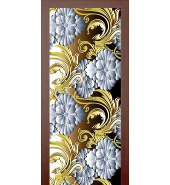 3D двері 3D візерунок 984, 80х200 см