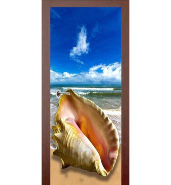 3D двері Ракушка 9440, 70х200 см