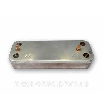 Теплообмінник вторинний ГВС Baxi/Westen 5686680 14 пластинів
