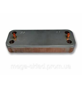 Теплообменник ГВС Demrad 20-24 кВт 12 пластин