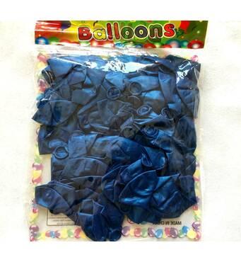 Шар воздушный металлик 7″ синий