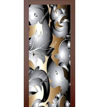 3D двері 3D візерунок 9182, 80х200 см