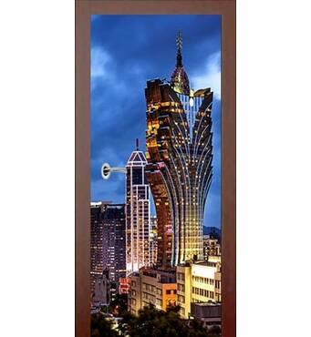3D двери Город 992, 80х200 см