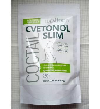 Коктейль Цветонол Cvetonol Slim Idealfood 250г для схуднення