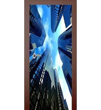 3D двері Місто 993, 80х200 см
