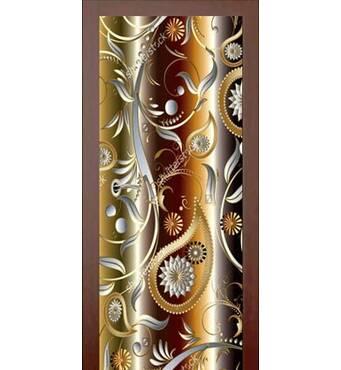3D двери 3D узор 9360, 60х200 см