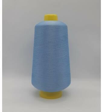 Текстурированная нить 150D/1 цв 328 светло голубой
