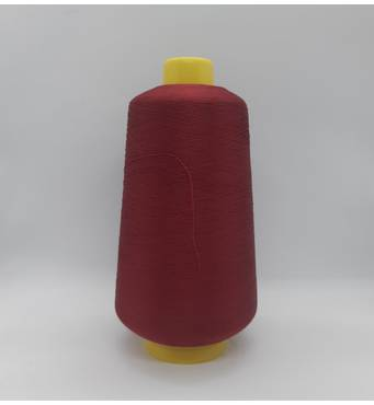 Текстурированная нить 150D/1 Цв  122 бордовый