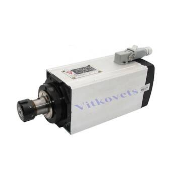 Шпиндель воздушное охлаждение GDZ125x125-6 (6 кВт, 380 В, 10 А, ER32)