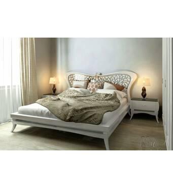 Деревянная кровать Фантазия
