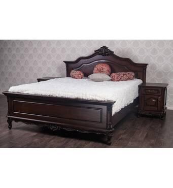 Двуспальная кровать Моника барокко стиль