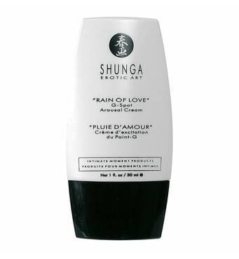 Крем для стимуляции точки G Shunga RAIN OF LOVE (30 мл), разогревающий, накопительный эффект
