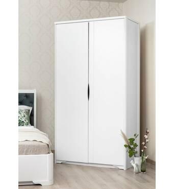 Двухдверный гардеробный шкаф Марита