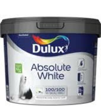 """Водоемульсійна фарба """"Dulux Absolute White"""" 3,0л."""