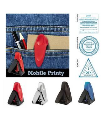 Печать карманная 40 мм на оснастке Trodat 9440