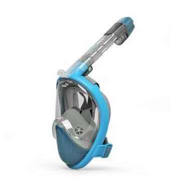 Маска для сноркелінгу TheNice F2 EasyBreath-IIIдля дайвінгу з кріпленням для камери L/XL Синій