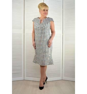 Платье шанелька - Модель 1820 46