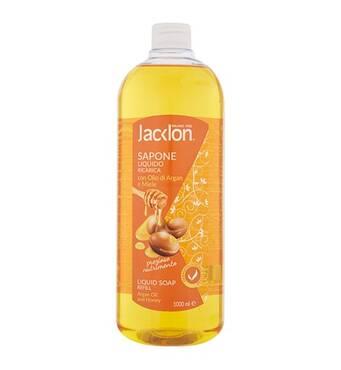 Жидкое мыло/запас JACKLON Масло Арганы и мед OIL& HONEY 1л