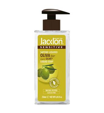 Рідке мило JACKLON SENSITIVE Оливка OLIVA 250мл