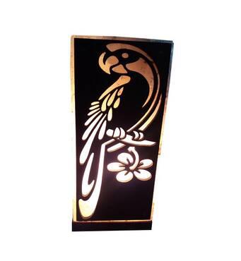 Соляной светильник Попугай 2 кг Saltlamp